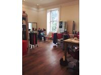 Talented hairstylists 4 yrs+ experienced bring own client base and attract more. Top Floor Studio
