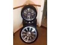 """Genuine Bmw alloy wheels m3 19"""" 3 series 5 series e90 e60 18"""" 20"""" 17"""" tyres"""