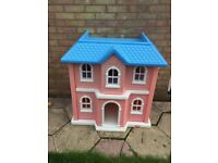 Outside dolls house