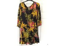 Multi coloured dress from Next