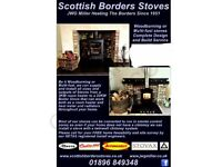 Scottish borders stoves
