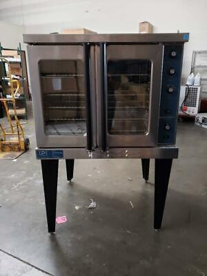 Duke E101-gv Single Deck Convection Oven Nat Gas Standard Depth Thermostatic