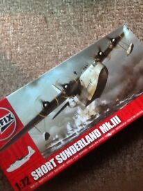 Airfix Short Sunderland model kit