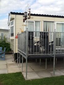 Static Caravan on Fishing Site in Lincolnshire