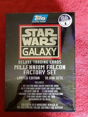 Star Wars Galaxy Millennium Falcon Publisher Proof Factory Set Trading Cards