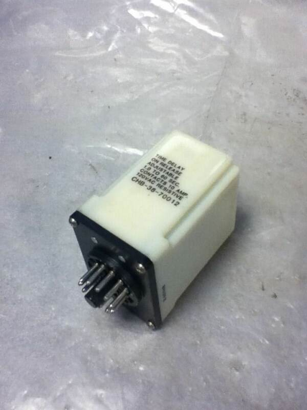 POTTER & BRUMFIELD CHB-38-70012 TIME DELAY RELAY