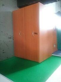 Cherry wood 2 drawer hanging file drawers
