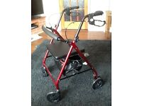 Rollator almost new used twice