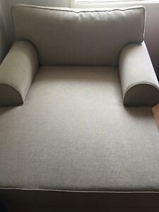 Armchair with built in chaise Rosemeadow Campbelltown Area Preview