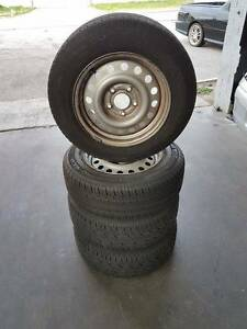 15 Inch Police Pursuit Wheels And Tyres Suit Commodore Bayswater Bayswater Area Preview