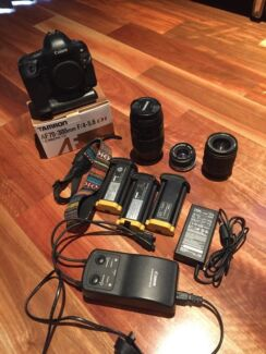 Canon EOS 1Ds Camera, lenses and Accessories West Perth Perth City Preview