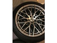 "20"" AEZ Antigua alloys 5x120 bmw or vivaro fitment"
