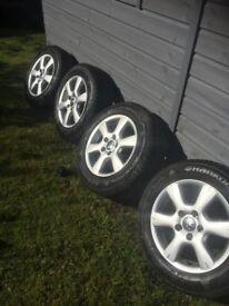Bargain ! Vw wheels like new