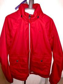 Timberland Red Raincoat Jacket S-Size