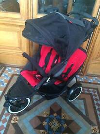 Phil and Ted Explorer double buggy