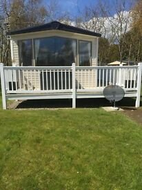 Caravan for hire at seton sands holiday village