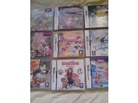 29 DS Games for sell all in good condition and all have books .