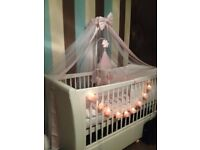 cotbed cot bed with mattress
