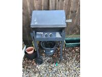 USED GAS AND CHARCOAL BARBECUE