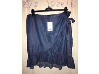 Next size 16 Jean skirt SSTC