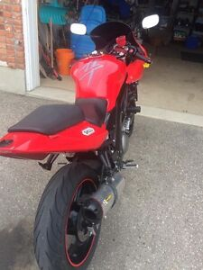 2006 SV650S with race tech front end