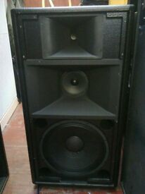 D.A.S compact 1,3-way active speakers,over £3400 when new-pair,made in spain