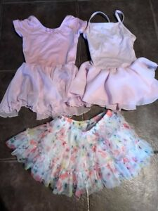 Like new! Size 3 ballet bodysuits and tutu