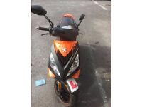 speed fighter 3 ( dark side addition ) 125cc for sale mot or 12 months no advisorys