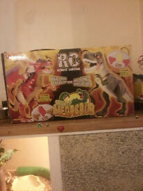 two walking dinosaurs remote control