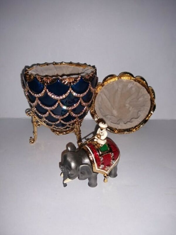 FABERGE Imperial Egg #348/100 Limoges France Pinecone Pine Cone