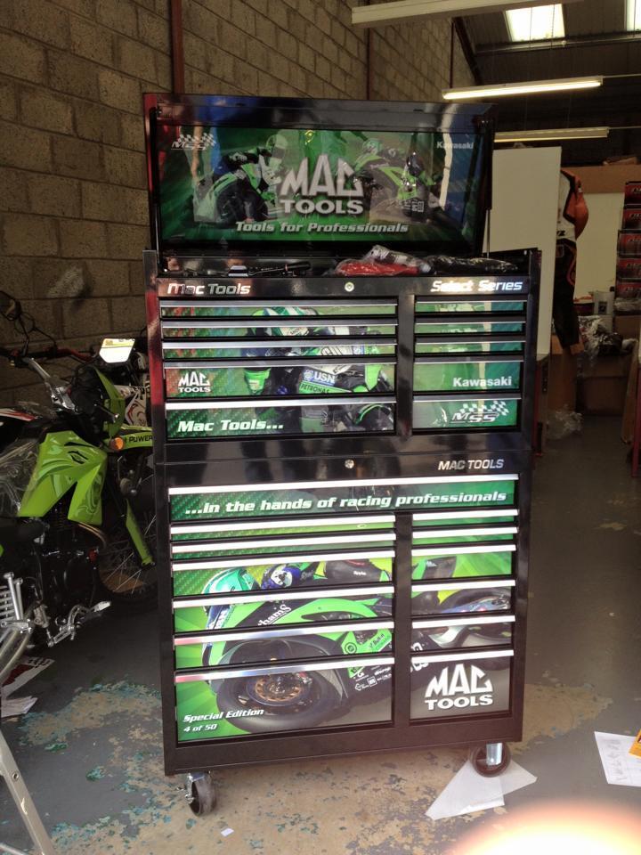 Mac select series tool box for sale uk