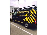 W Mackay Joinery - A reputable joiner covering the North East of Scotland