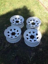 Hilux ROH Sunraysia rims X 4 Keperra Brisbane North West Preview