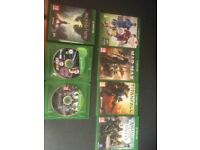 xbox one games x 7