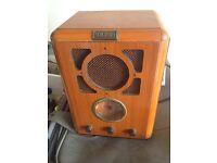 bush radio good condition only £15.00