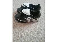 Umbro boy's football trainers size 12