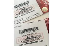 KYLIE MINOGUE TICKETS X 2 - CARDIFF, SEPTEMBER 2018