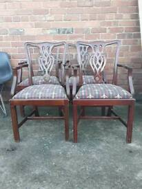 Carver chairs available x7 priced each
