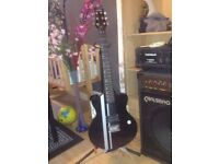 Eletrick Guitare CB SKY with AMP and an effect amplifier + guitar stand