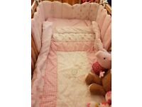 Mothercare Little Lane cot bedding and accessories