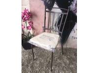 Blooms garden chair with cushion
