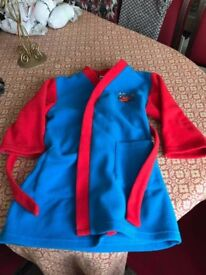 FREE ROARY BOYS DRESSING GOWN USED 3-4 YRS
