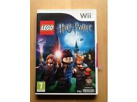 Harry Potter game for Wii, years 1-4