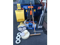 Hardfloor Carpet and Rug cleaning set up