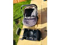 Silver cross Ventura isofix base with car seat