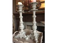 Pillar Candle holders Brand New