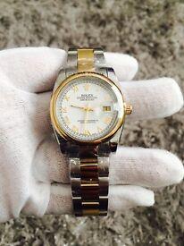 Rolex date just bi metal