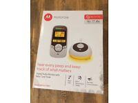 Motorola baby monitor MBP161TIMER. Unopened in original box. Manufacturers says a range of 300m