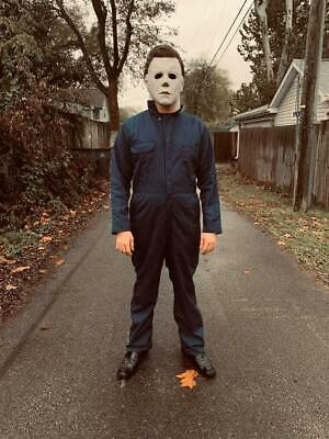 HALLOWEEN Movie Michael Myers SIGNED 1978 Original Costume Reproduction Film