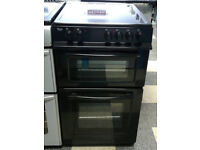 c780 black swan 50cm ceramic hob electric cooker come with warranty can be delivered or collected